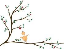 Дерево сердец Стоковое Изображение RF