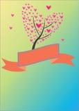 Дерево сердца Стоковое фото RF