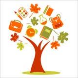 Дерево школы бесплатная иллюстрация
