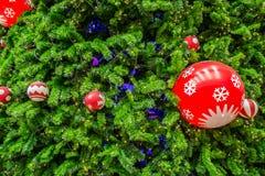 Дерево Chrismas для предпосылки Стоковая Фотография RF