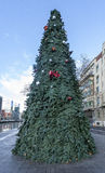 Дерево Cristmast в Бильбао Стоковые Изображения