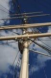 Дерево masted шлюпка на Балтийском море в Стокгольме Стоковые Фотографии RF
