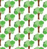 Деревья безшовные Стоковые Фотографии RF