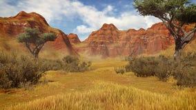 Деревья в дневном времени 3 каньона бесплатная иллюстрация