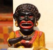 Деревянная аборигенная статуя antique Стоковые Фото