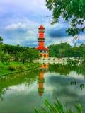 Деревянная башня вахты Стоковое Фото