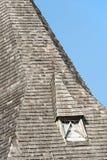Деревянная башня колокольни стоковая фотография