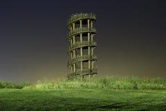 Деревянная башня Стоковые Изображения