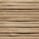 Деревянная безшовная предпосылка, бамбуковая деревянная текстура планки, стена планок Стоковое Фото