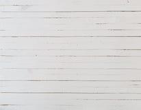 Деревянная белая предпосылка Стоковые Изображения RF