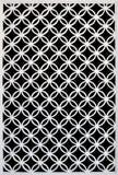 Деревянная белая решетка Стоковые Изображения