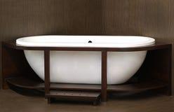 Деревянная ванна Стоковое Изображение RF