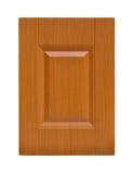 Деревянная дверь шкафа Стоковое фото RF