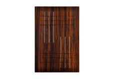 Деревянная дверь шкафа Стоковая Фотография