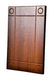 Деревянная дверь шкафа Стоковые Изображения