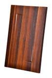 Деревянная дверь шкафа Стоковые Фотографии RF