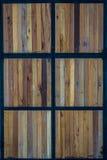 Деревянная дверь Стоковое Изображение RF