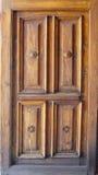Деревянная дверь Стоковые Изображения