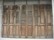 Деревянная дверь Accordiance Стоковые Изображения