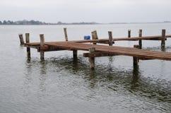 Деревянная гавань стоковое фото