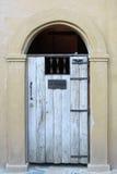 Деревянная гостиница входа двери Стоковое Изображение RF