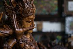 Деревянная диаграмма на Бали Стоковая Фотография RF