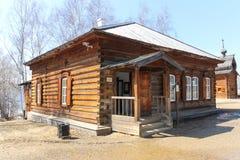 Деревянная дом Стоковые Изображения RF