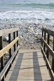 Деревянная лестница Стоковая Фотография RF