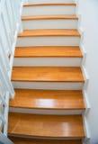 Деревянная лестница Стоковые Изображения RF