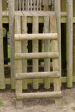 Деревянная лестница Стоковые Фото