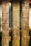 Деревянная загородка на запачканной текстуре предпосылки Стоковое Изображение RF