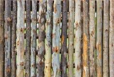 Деревянная загородка для дизайна и предпосылки Стоковые Фотографии RF