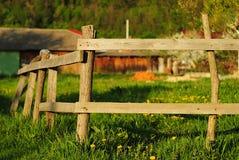 Деревянная загородка Стоковые Изображения RF