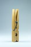 Деревянная зажимка для белья Стоковое Изображение RF