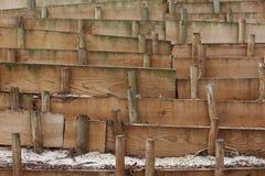 Деревянная запруда Стоковое фото RF