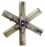 Деревянная звезда Дэвида Стоковые Изображения RF