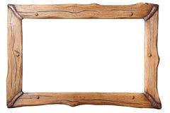 Деревянная изолированная рамка, Стоковая Фотография RF