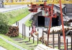 Деревянная индустрия Стоковое фото RF