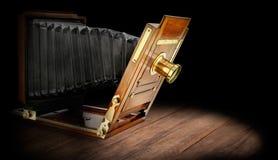 Деревянная камера стоковая фотография rf