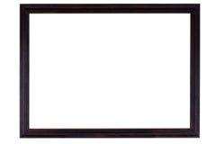 Деревянная картинная рамка стоковое изображение