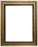 Деревянная картинная рамка стоковое изображение rf