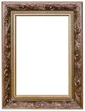 Деревянная картинная рамка стоковые фото