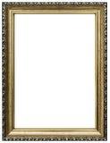Деревянная картинная рамка стоковые изображения rf