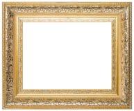 Деревянная картинная рамка стоковая фотография rf