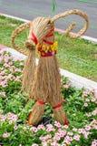 Деревянная коза Стоковые Фото