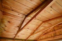 Деревянная конструкция рамки крыши Стоковые Фото