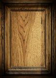 Деревянная коричневая картина рамки Стоковое фото RF