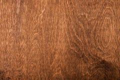Деревянная коричневая текстура над всей рамкой Стоковые Фотографии RF