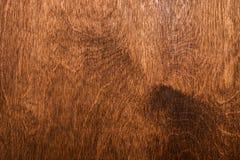 Деревянная коричневая текстура над всей рамкой Стоковое Фото