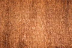 Деревянная коричневая текстура над всей рамкой Стоковые Фото